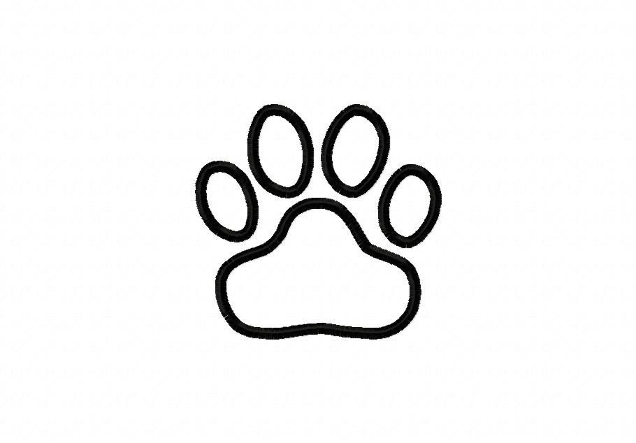 Tiger Paw Print Coloring Page Coloring Pages To Print Tiger Paw