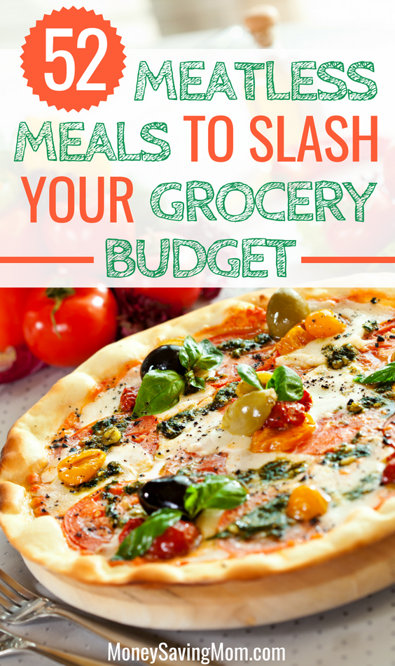 52 Meatless Meals to Slash Your Grocery Bill images