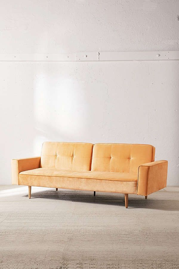 red orange full sleeper ideas size sofa on crushed vintage of sofas velvet blue best twin couch large