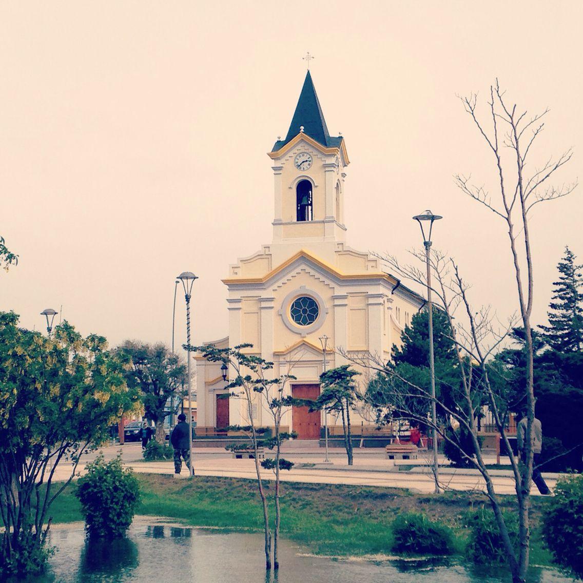 Catedral Puerto Natales. María Auxiliadora. Chile. Patagonia.