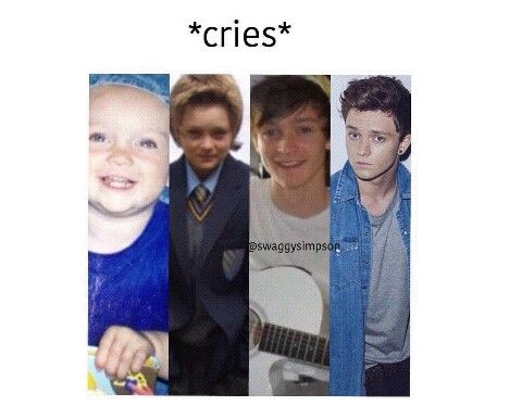 Puberty hits Connor so well.. THE SECOND PICTURE OMG!