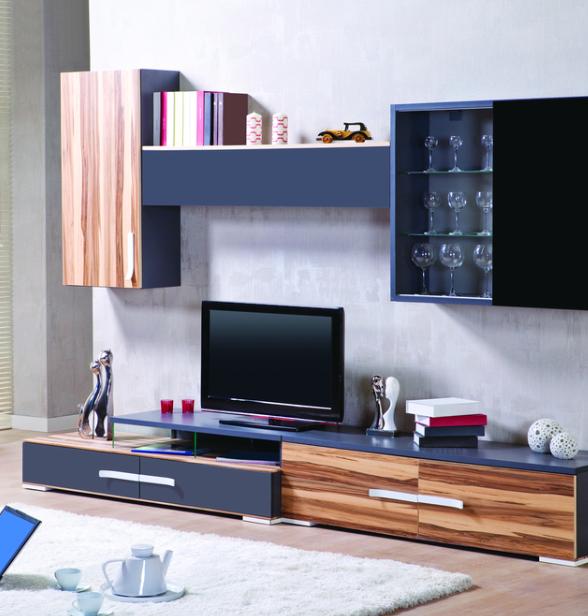 Nos Conseils Pour Installer Un Meuble Tv Bibliotheque Meuble Tv Interieur Interieur Maison
