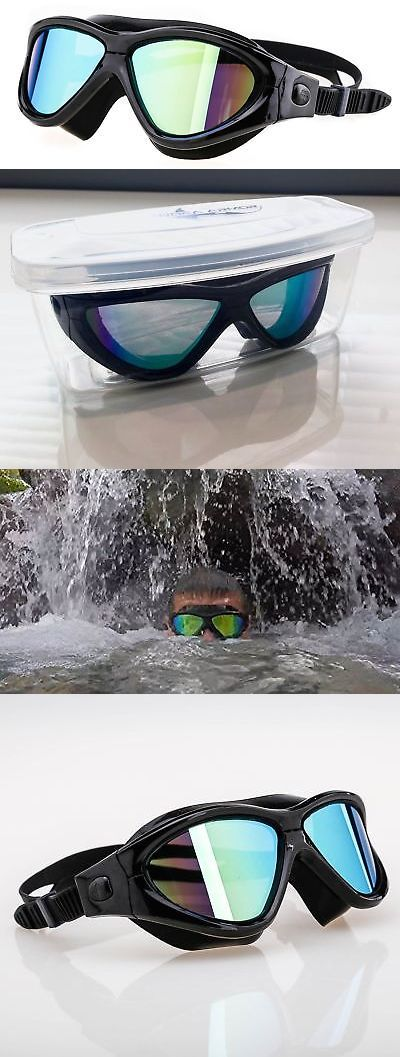 0f6a272adb5 Goggles 74051  Large Swim Goggles With All New Protective Case Anti-Fog  Tinted Uv