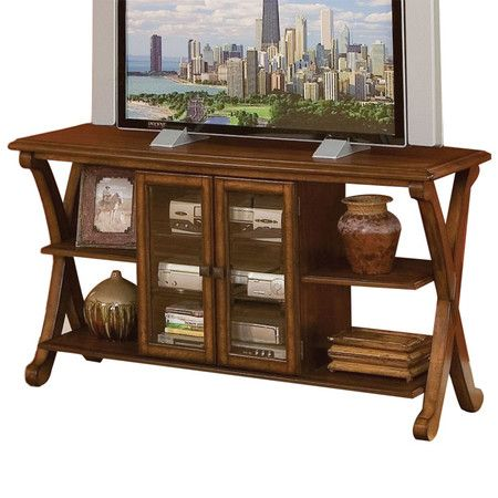 Leisa Tv Stand For Tvs Up To 55 Inches With Electric Fireplace