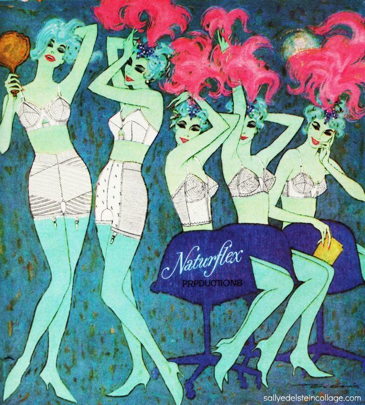 Naturflex lingerie ad  1960