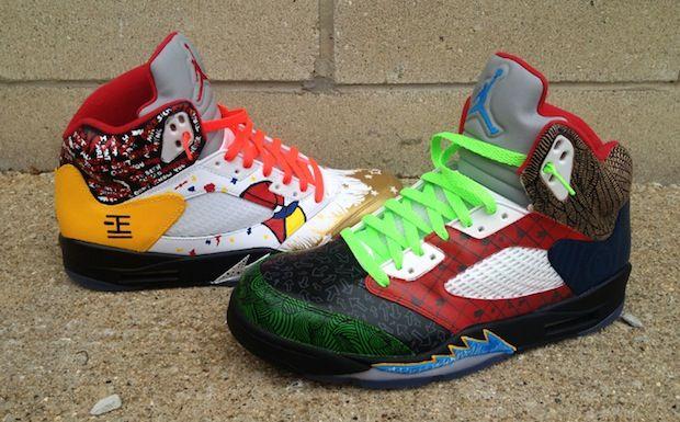 """Air Jordan 5 """"What the"""