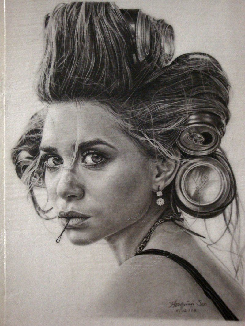 Celebrity Drawings Black And White