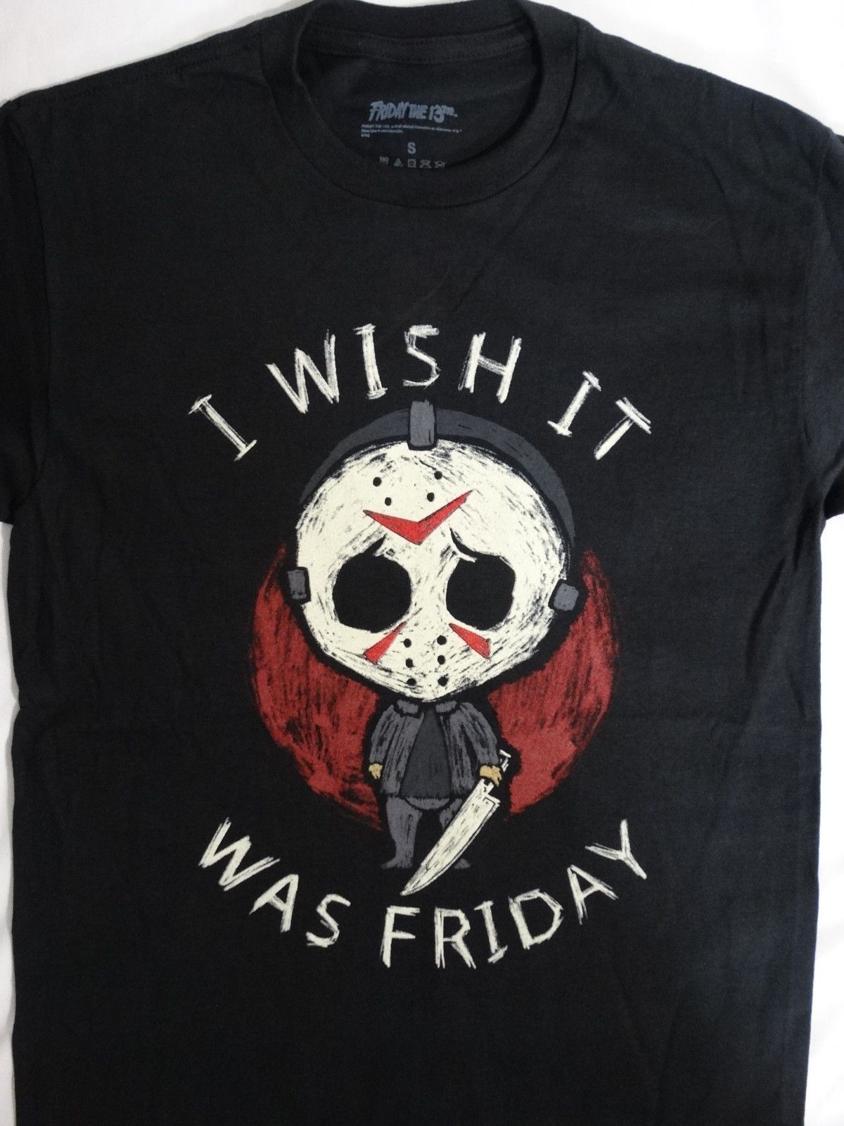Friday The 13th Horror Movie Jason Voorhees I Wish It It Wish Was Friday T d29857
