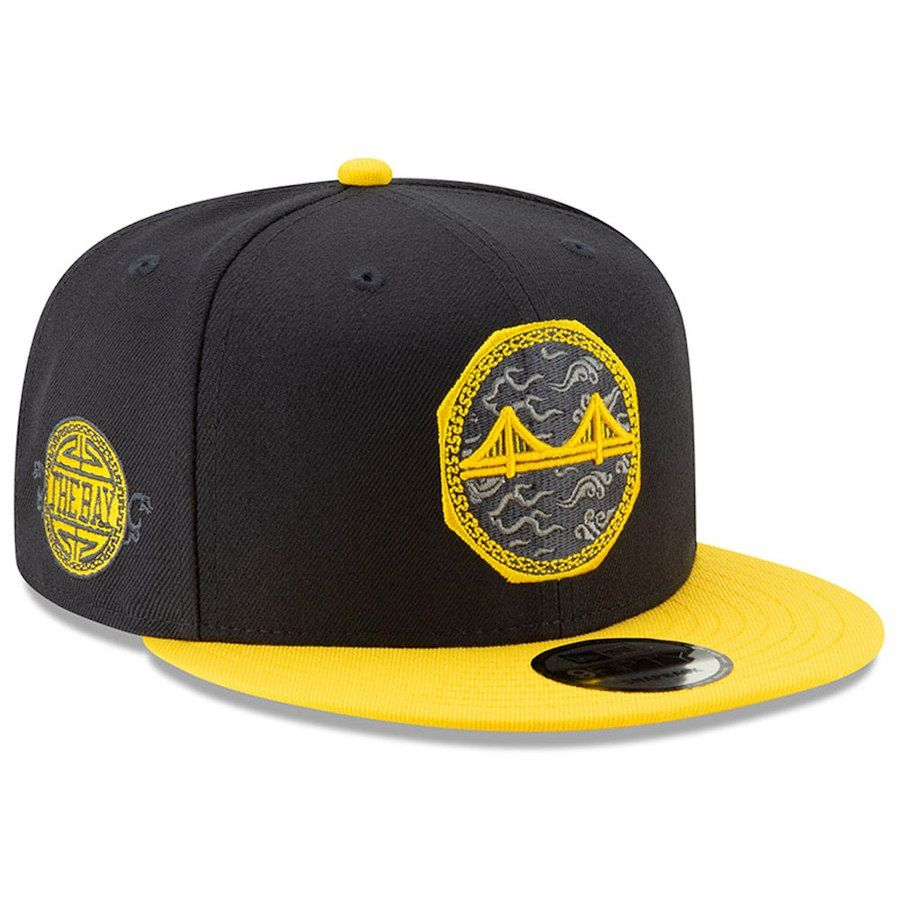 meet 577d5 a9090 Men s Golden State Warriors New Era Black 2018 City Edition On-Court 9FIFTY  Snapback Adjustable Hat, Your Price   33.99