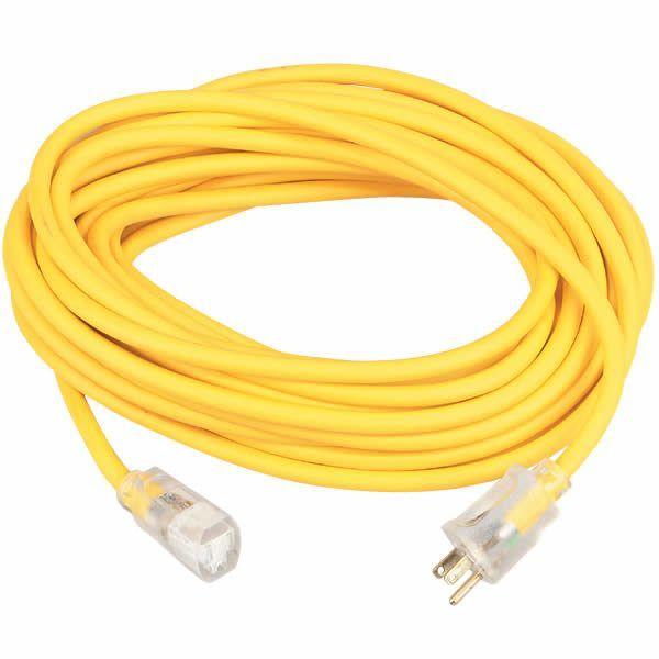 Coleman Cable Polar/Solar 12 GA, 100 FT Extension Cord