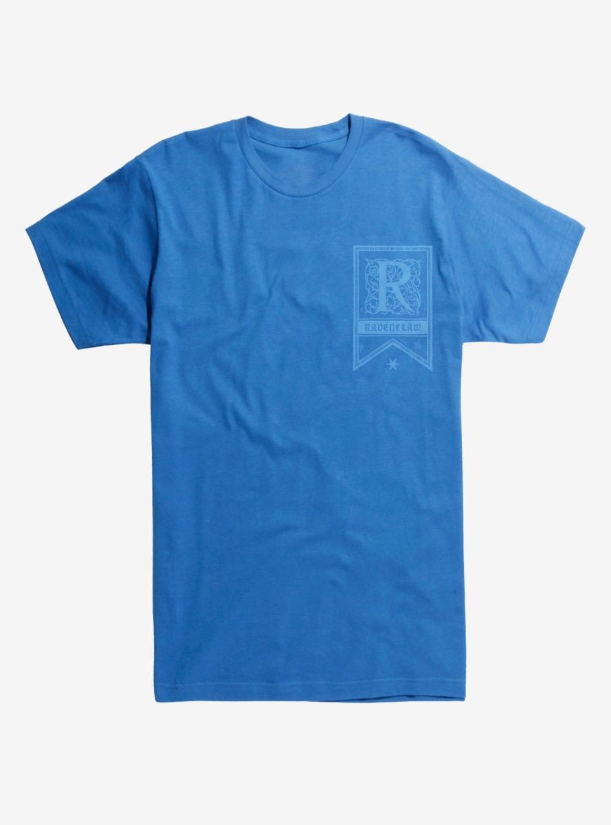 Harry Potter Ravenclaw Flag Logo T Shirt Ravenclaw Logo Flag Logo Ravenclaw