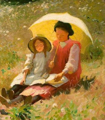 Reading and Art: Harold Harvey