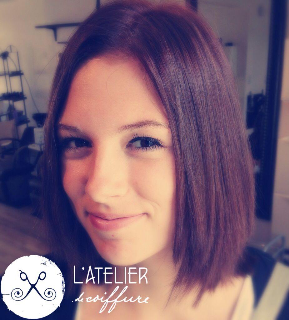 Coupe clavicut réalisé par Valérie Racine -L\'Atelier de coiffure ...