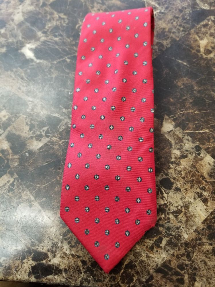 816e1966d8a8 Christian Dior Men's Tie 100% Silk Red Detail Vintage #fashion #clothing  #shoes
