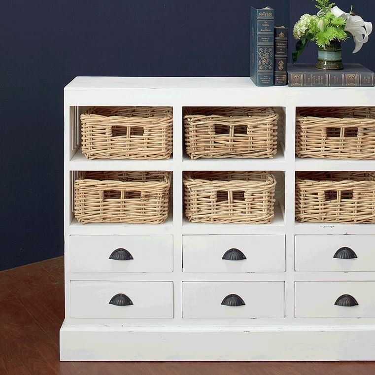Superior Beachcrest Home Goulding 6 Drawer And 6 Basket Storage Cabinet