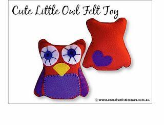 free printable owl pattern  Creative Little Stars  Free