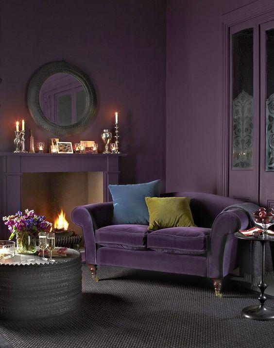 El Ultra Violeta o Púrpura, nuevo color Pantone para el 2018.