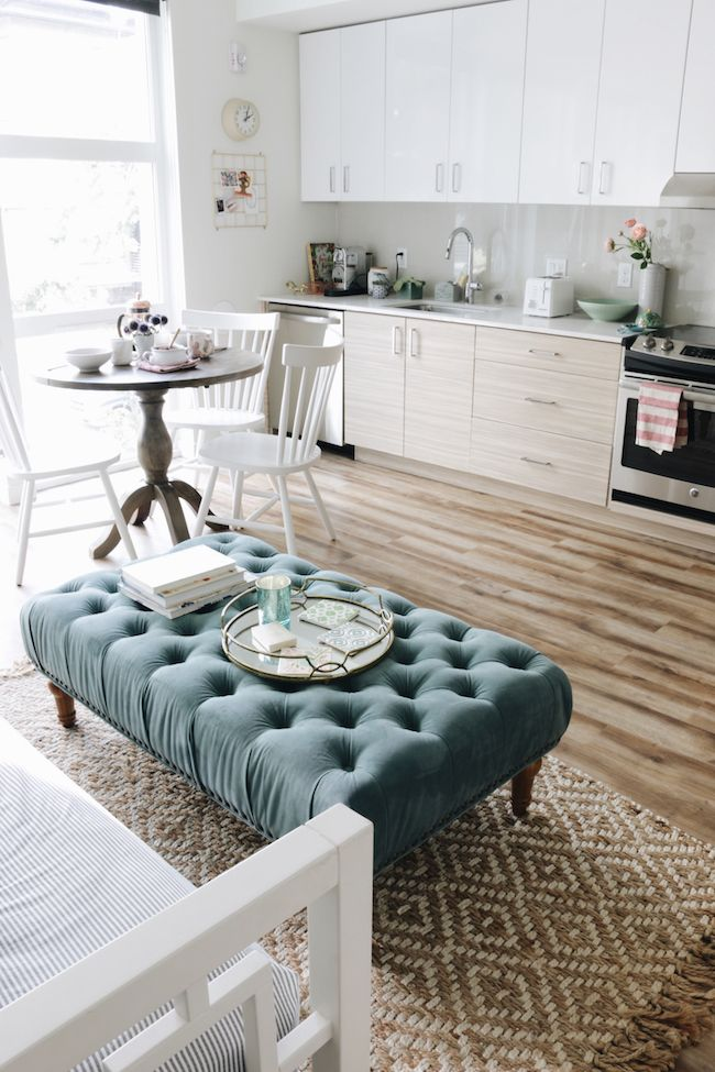 Small Space Solutions Living Room: Small Space Solutions: Seattle Apartment Dining Area