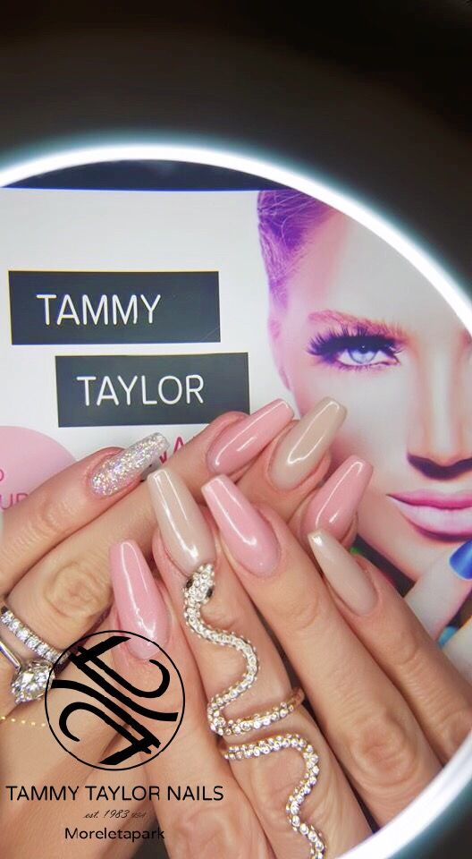 Tammy Taylor Nails SA - Mel Viljoen Celebrity Nail Artist in Africa ...
