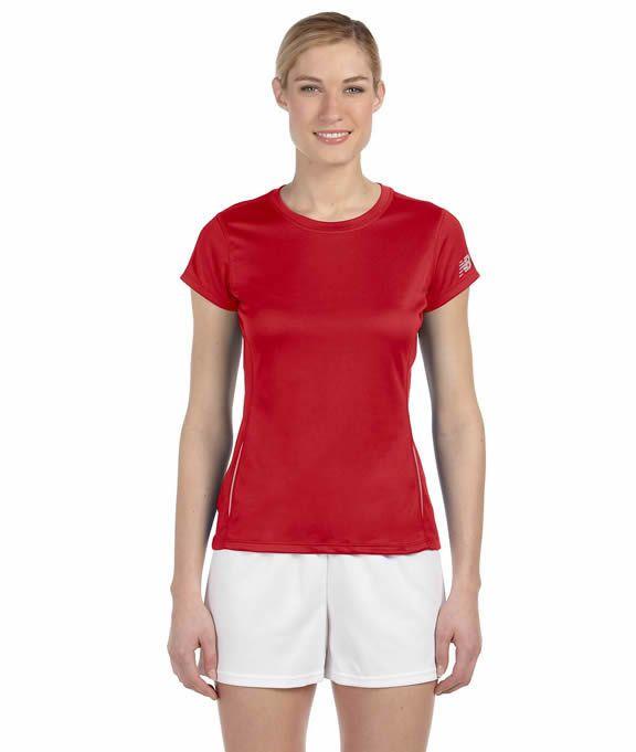 Wholesale Blank N9118L New Balance Ladies' Tempo Performance T-Shirt | Buy in Bulk