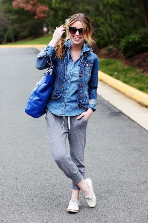 12 Sweatpants Outfits That Aren't Just For Lounging #sweatpantsoutfit