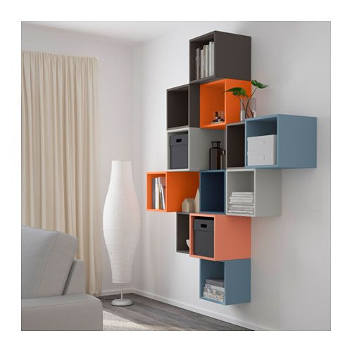 Eket wall mounted cabinet combination multicolor decor ideas pinterest ikea mobili e - Ikea ufficio informazioni ...