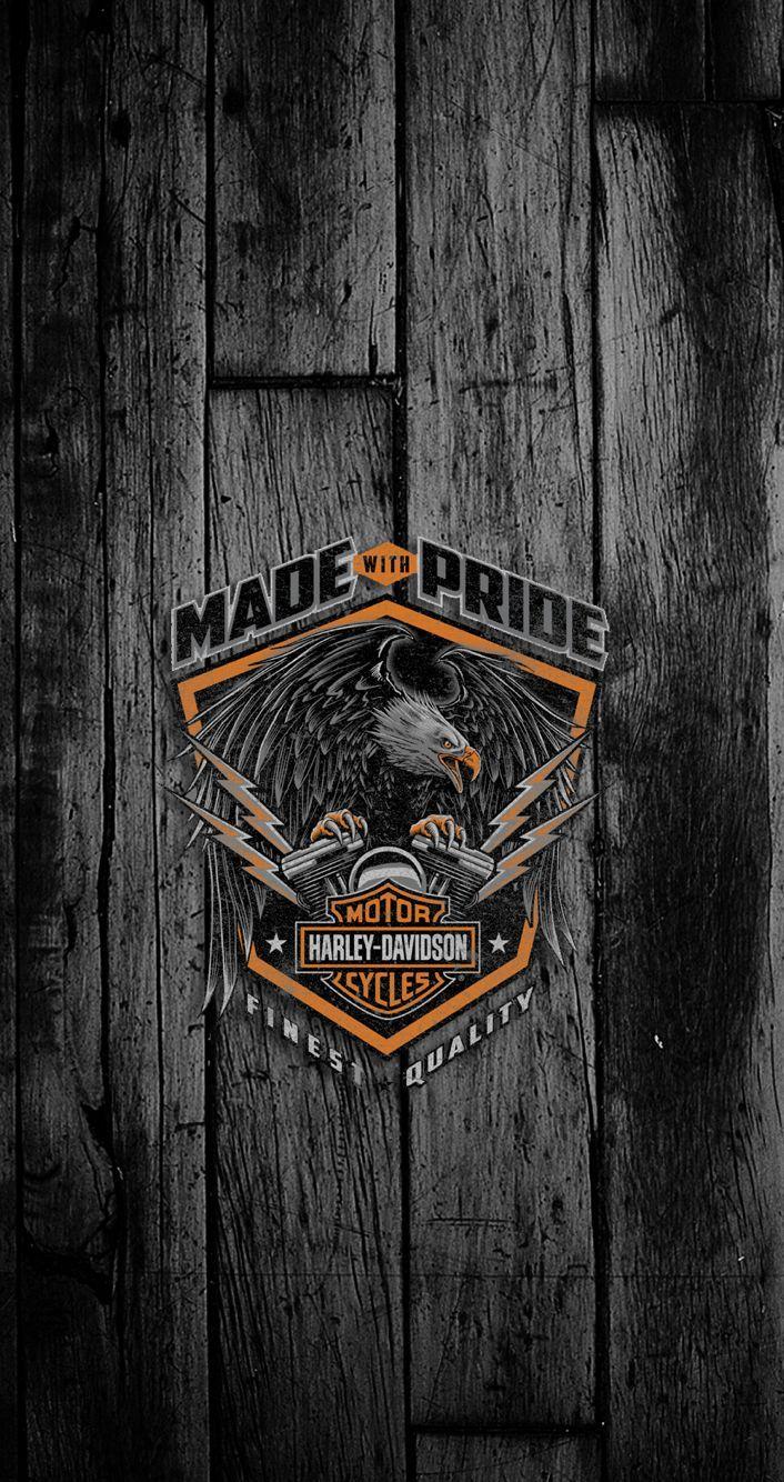 Portada Harley davidson wallpaper, Harley davidson logo