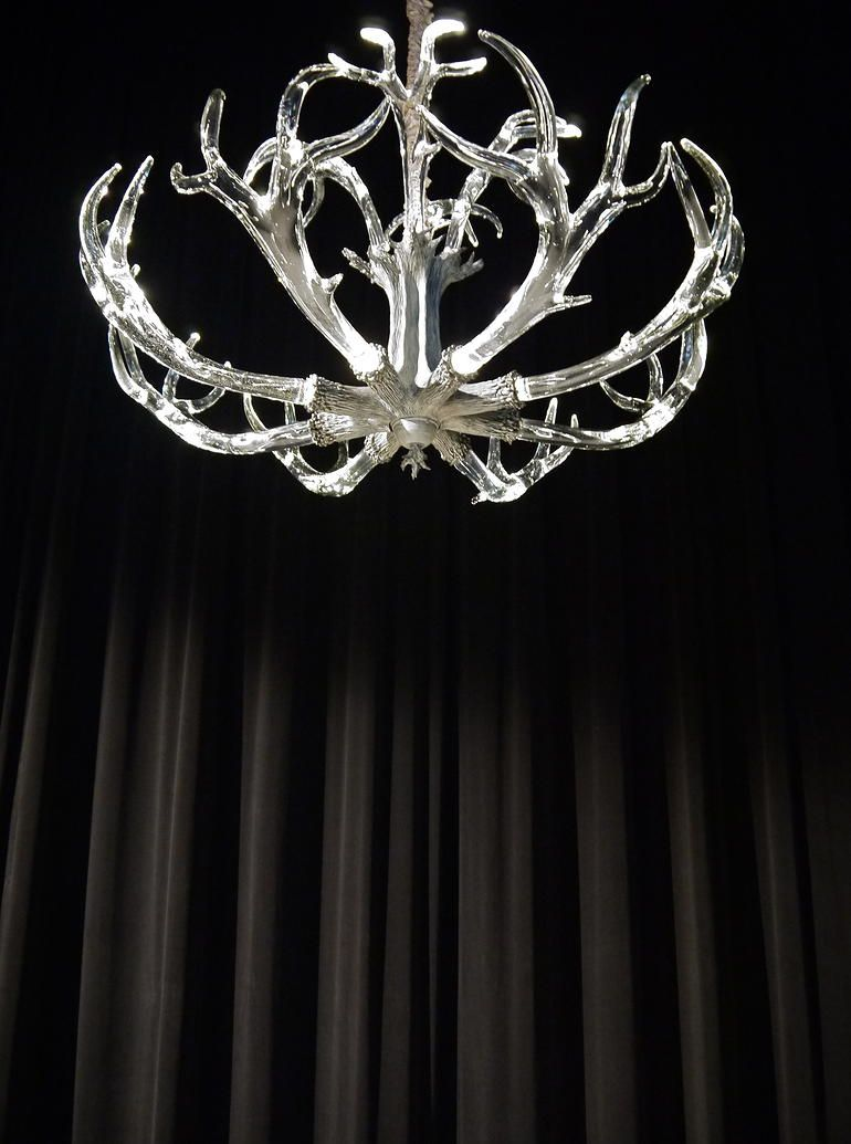 Lawson Glass The Crystal Antler Chandelier