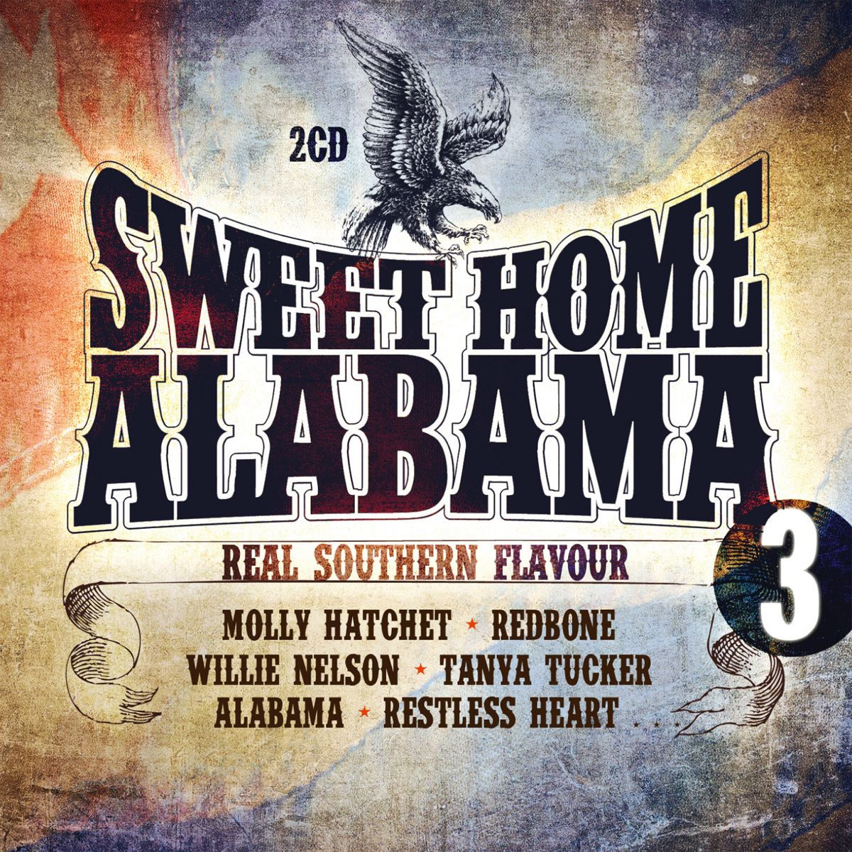Sweet Home Alabama Vol. 3 - Real Southern Flavour - Various Artists (ZYX) EAN: 0090204635733