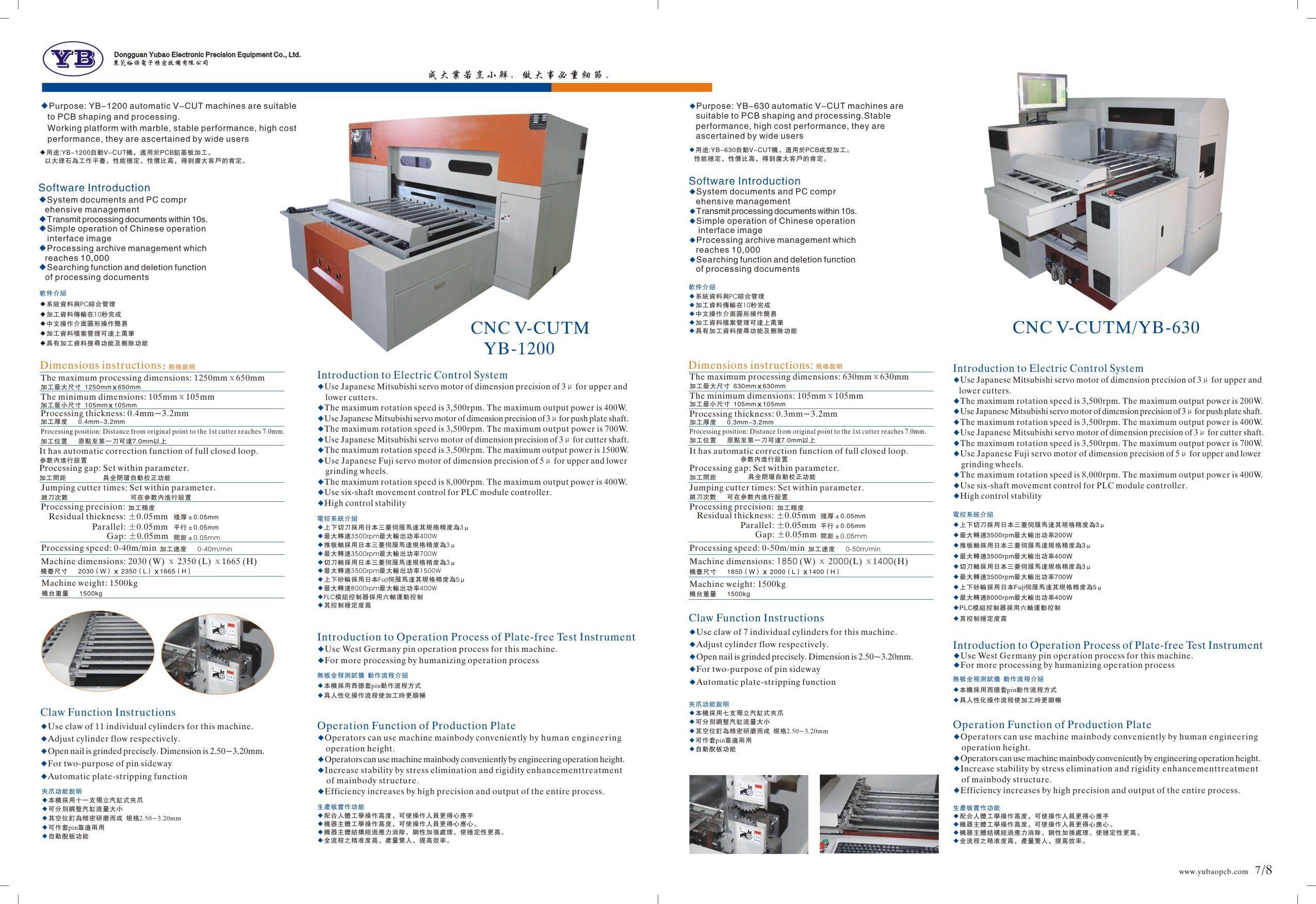 Dongguan Yubao Electronic Precision Equipment Co Ltd Tel 008613922904965 Email Sales Yubaopcb Com Wechat