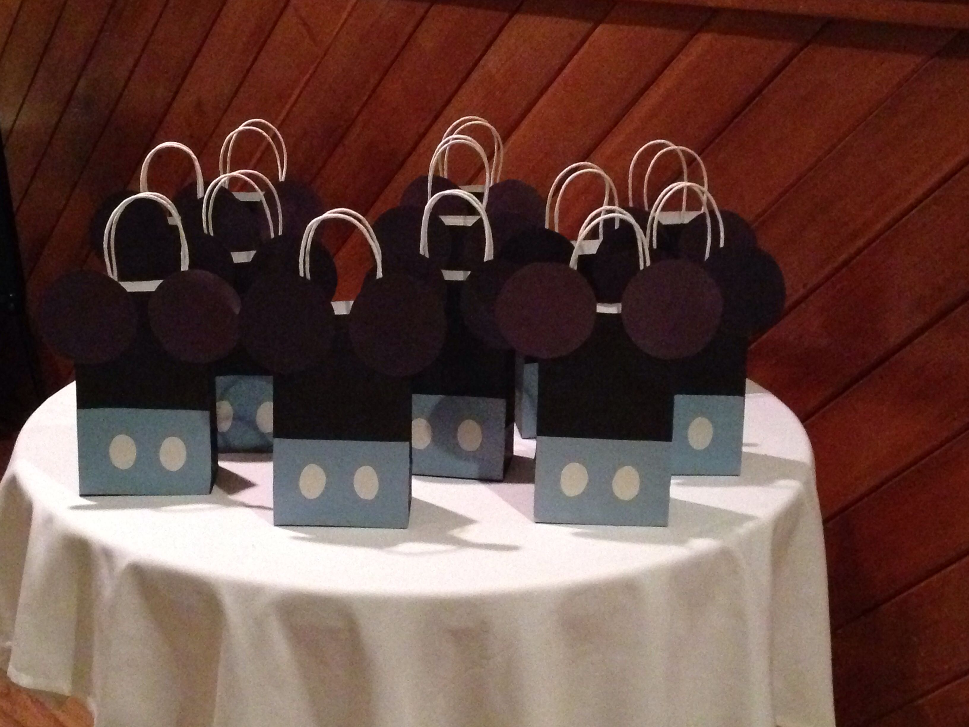 Baby Mickey Mouse Birthday Goody Bags