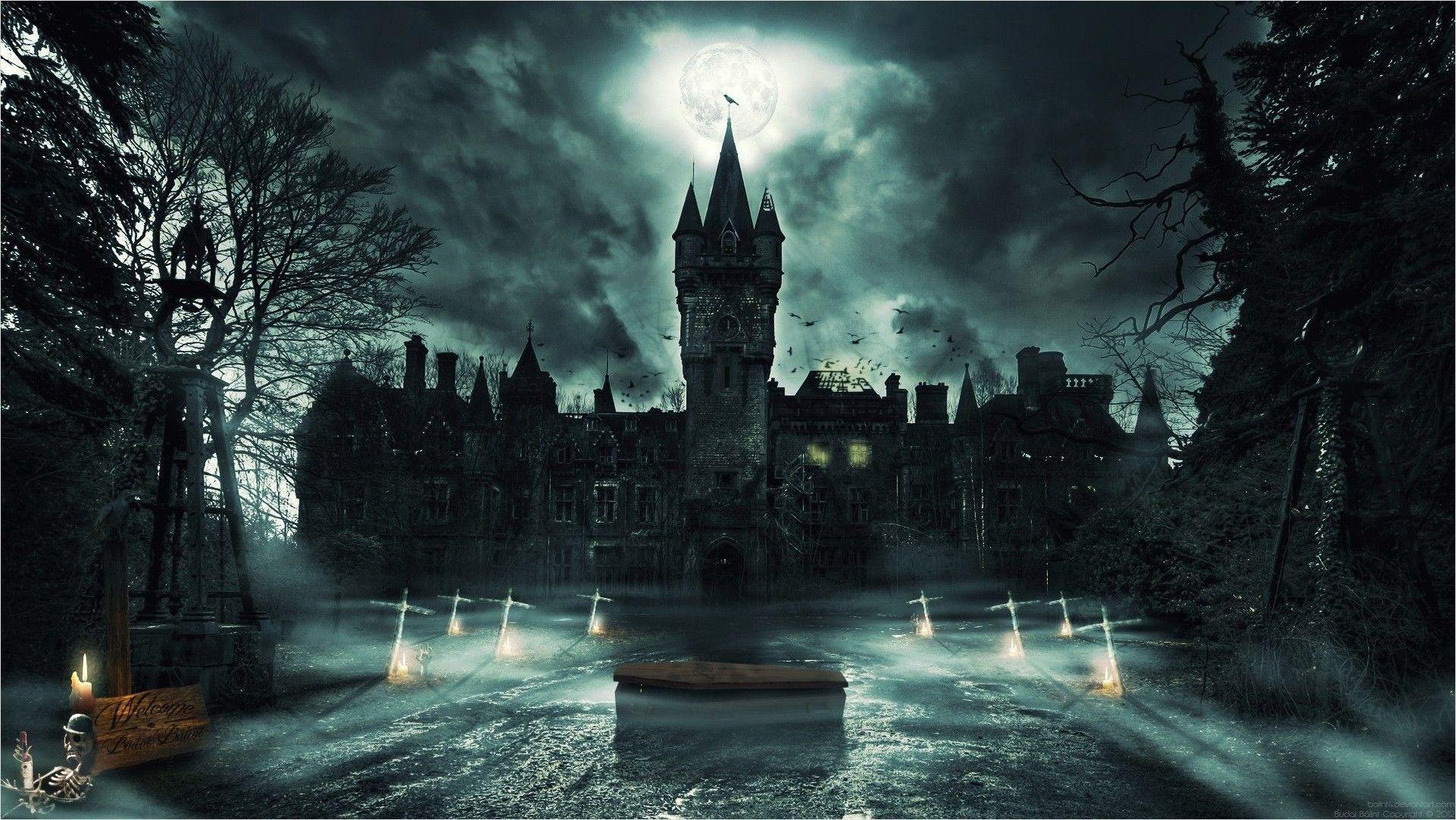 4k Fantasy Evil Castles Wallpaper Fantasy Castle Dark Castle Goth Wallpaper