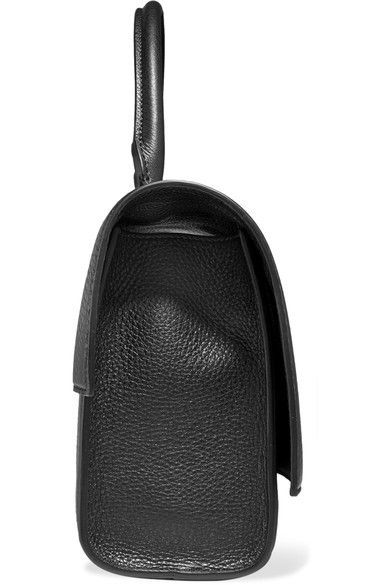 90e2063391 Givenchy - Small Shark Bag In Black Textured-leather - one size ...