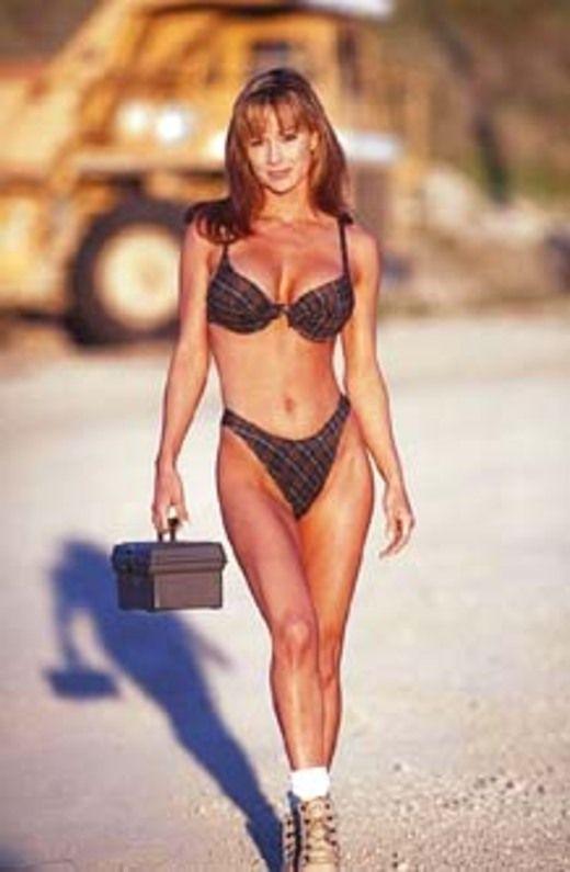 Debbe dunning bikini