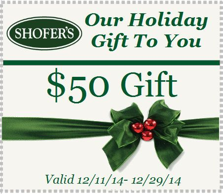 Holiday Gift | Shofers Furniture