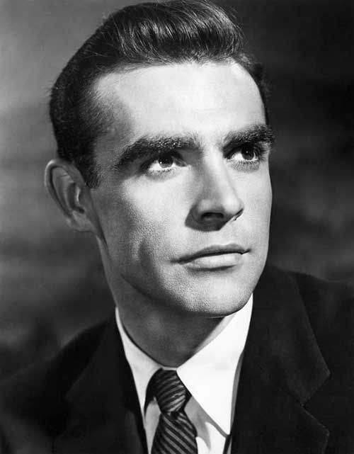 25 Herren 50er Jahre Frisuren People Pinterest Sean Connery