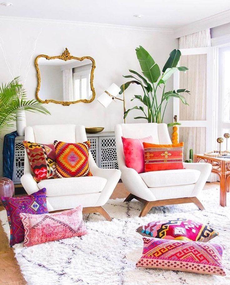 46 Stunning Rustic Living Room Design Ideas: 59 Beautiful Rustic Bohemian Living Room Design Ideas 50