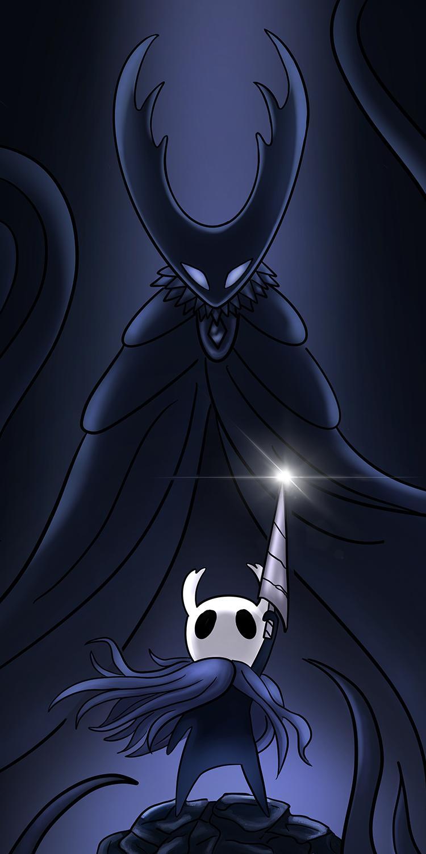 I drew up a Hollow Knight poster Knight, Knight