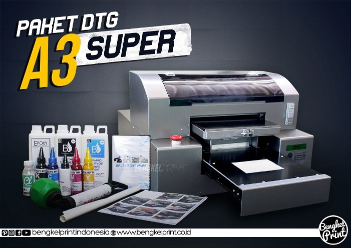 Jual Paket Printer Dtg Riecat A3 Super Ekonomis Kini Bengkel Print Hadir Sebagai Solusi Usaha Anda Pastinya Anda Membutuhkan Alat Modern Printer Bengkel Alat