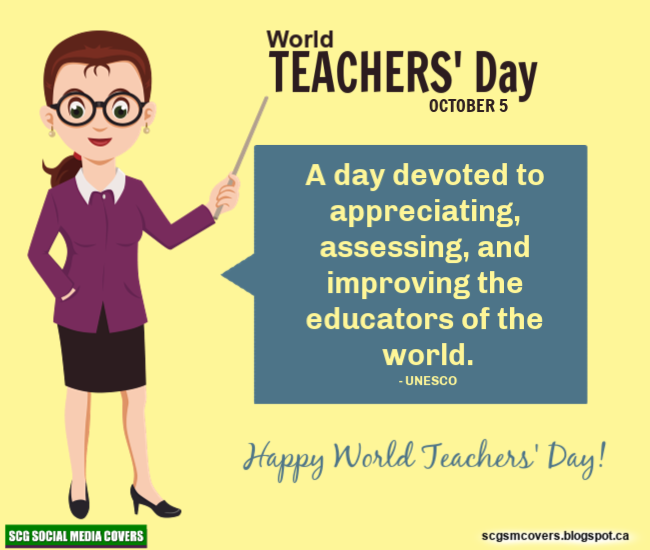 Banners World Teachers Day October 5 Worldteachersday World Teachers Teachers Day Special Teachers Day