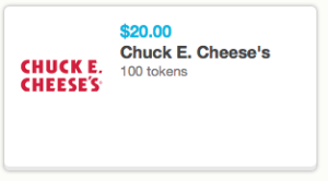 Best 2020 Chuck E Cheese Coupons Free Tokens Tickets