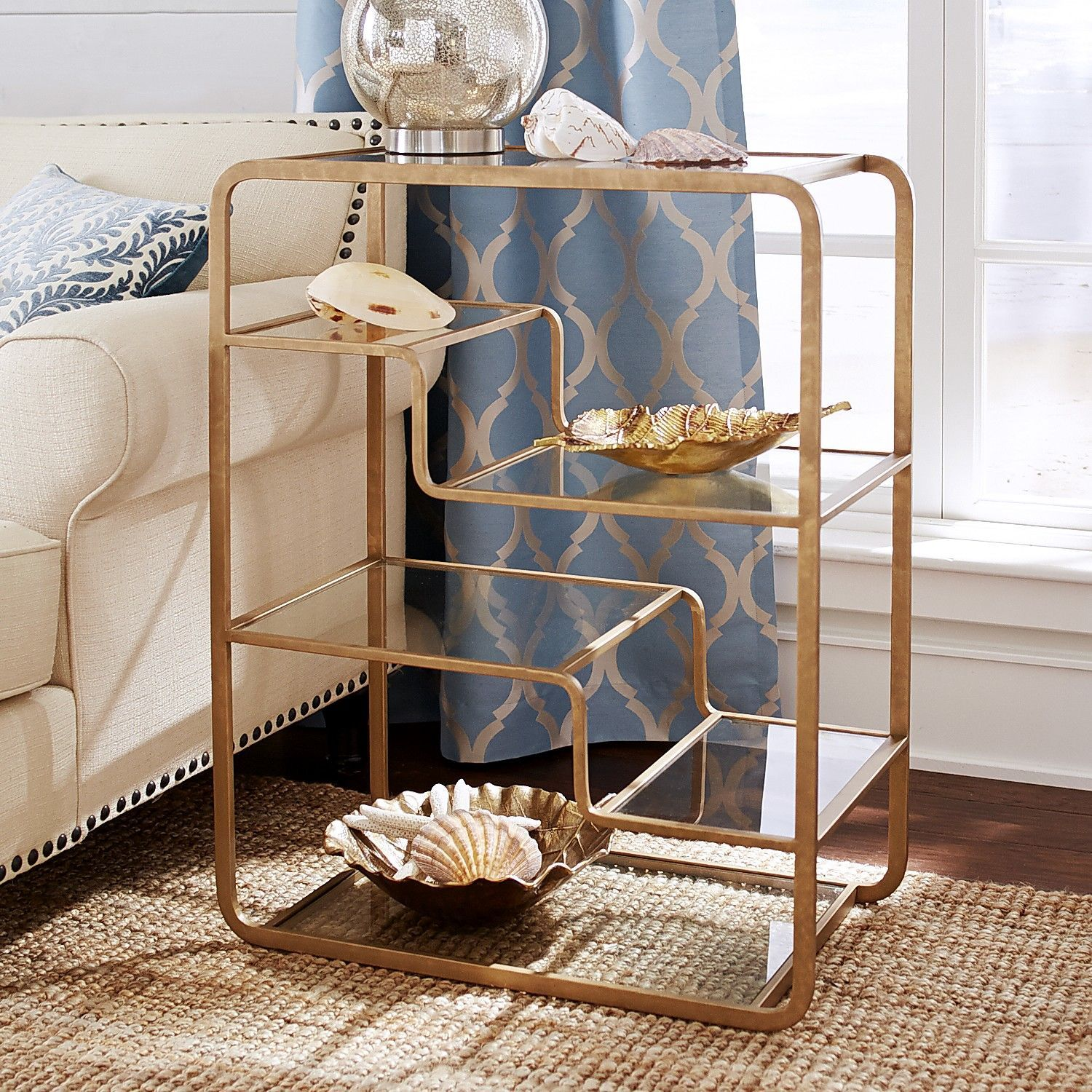 Elegant Enzo Low Shelf | Pier 1 Imports
