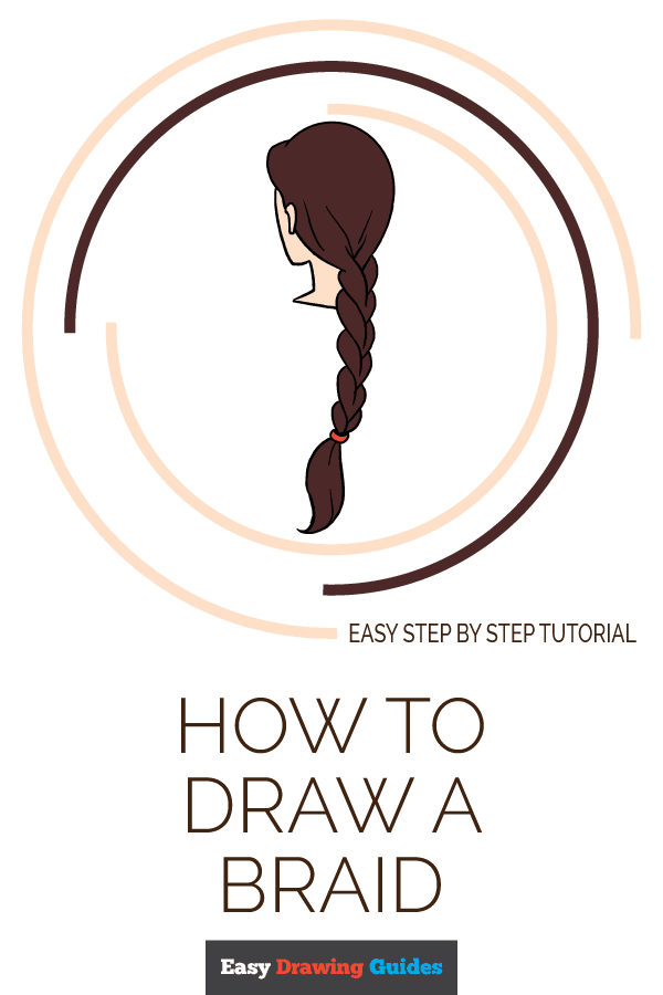 How To Draw A Braid Really Easy Drawing Tutorial Dream House