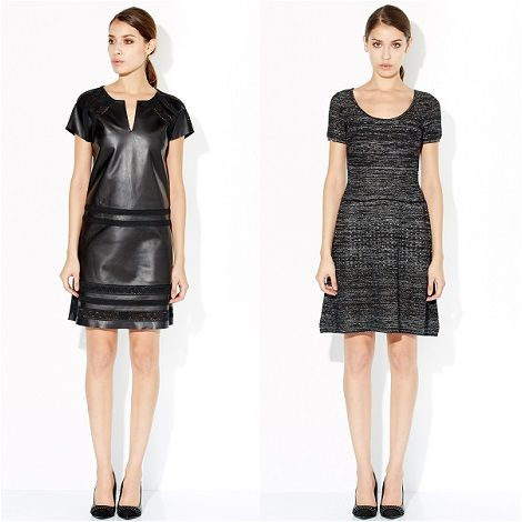 Zapa robe noire et blanche