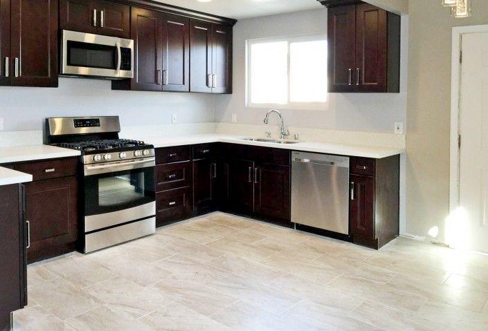 California Espresso Kitchen Cabinet | California Espresso Kitchen ...