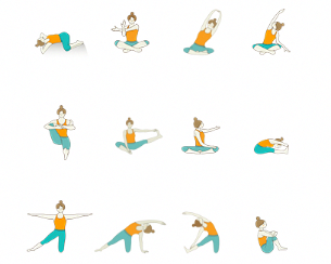 gate pose yoga sequence yoga sequence for allergies and