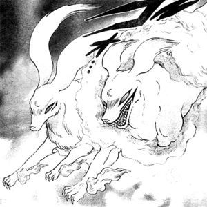 Sesshomaru and his mother