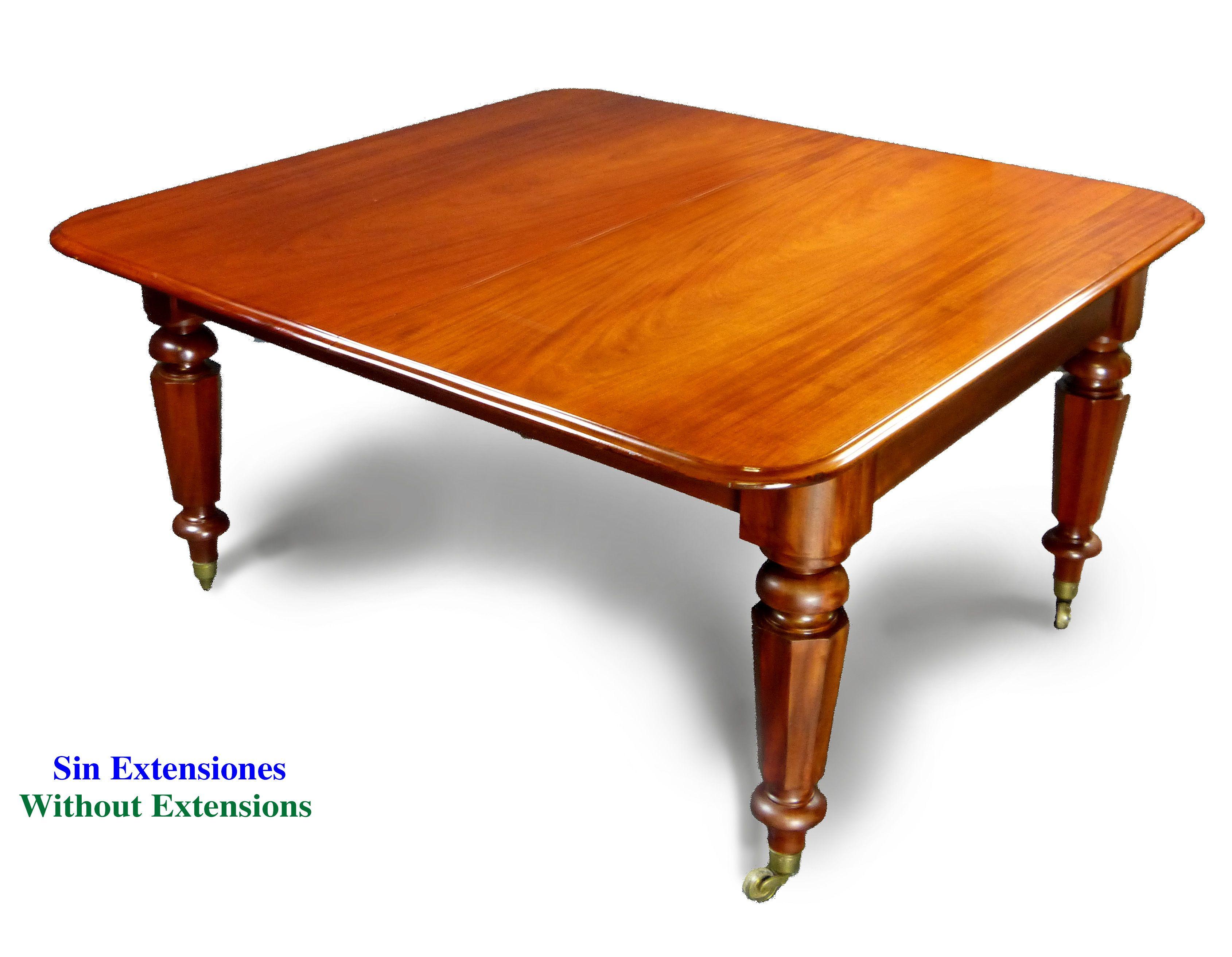 Antigua Mesa De Comedor De La Poca De La Reina Victoria De  # Muebles Reina Victoria