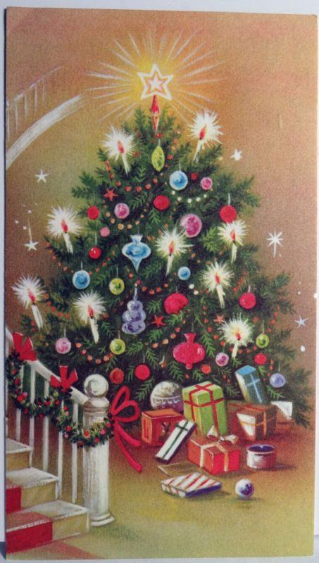 Nostalgic Christmas Card | Christmas Ornaments | Pinterest | Vintage ...