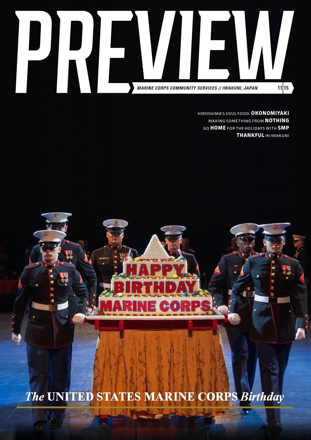 Preview November 2015 Happy birthday marines, Marine